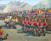 Knaresborough Bed Race by Jim Sykes (courtesy of Art in the Mill)