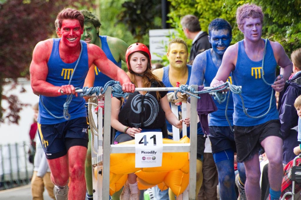 Bed Race will be back! The question is when? Stayed tuned, we haven't gone away.