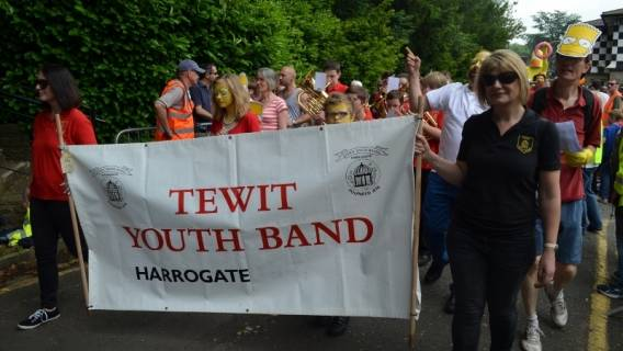 'Most Entertaining' Tewit Youth Band