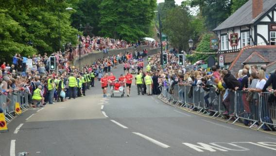 Bed Race All Set for 10th June 2017