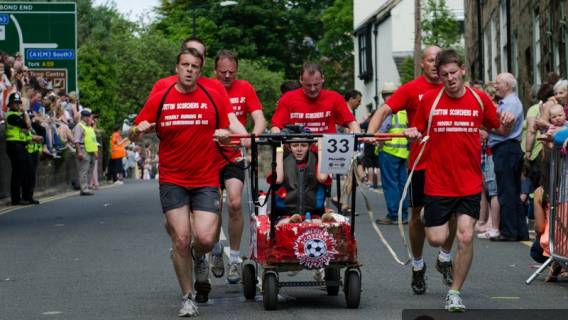Excitement Builds for 52nd Bed Race