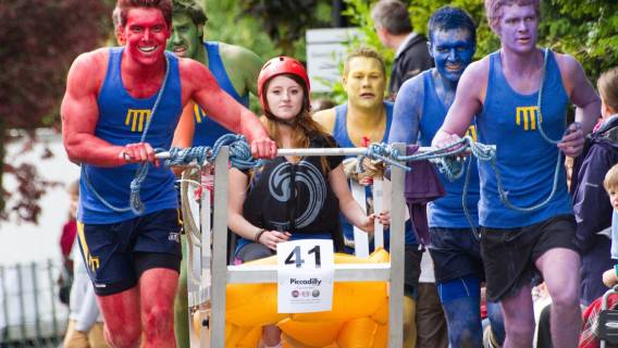 Entry period for 2019 Bed Race now open
