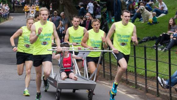 Planet steel make it a Double at Bed Race 2016