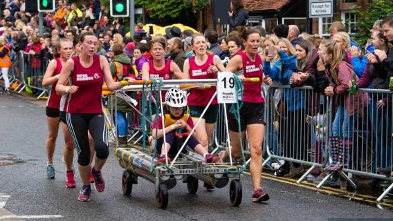 Bed Race 2020 is now open for entries