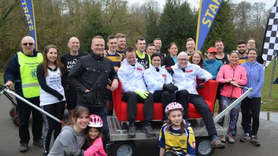Huge Fun as Bed Racers take on BBC Look North