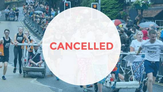 Bed Race 2020 Cancelled